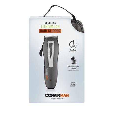 conair for men 20 pc lithium ion clipper haircut grooming