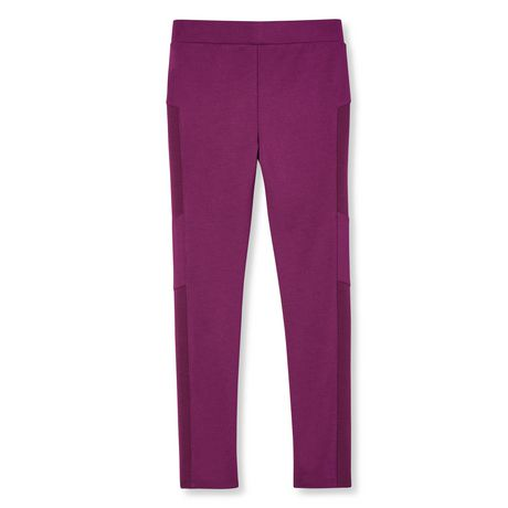 George Girls' Moto Pants - image 2 of 2
