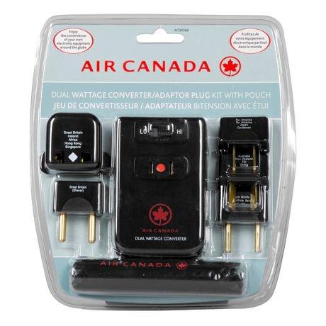 Air Canada Dual Wattage Converter Adaptor Kit Walmart Canada