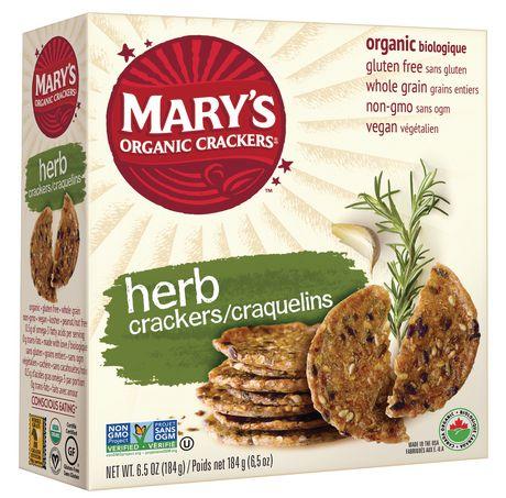 Mary's Gluten Free Herb Organic Crackers - image 1 of 2