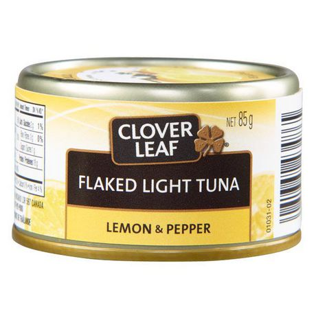 Clover LEAF® Lemon & Pepper Flaked Light Tuna - image 1 of 3