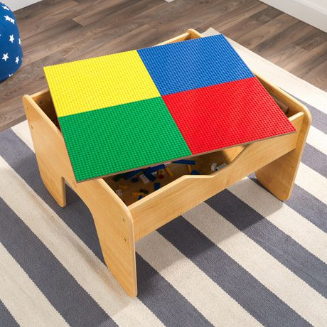 kidkraft 2 in 1 activity table with board natural. Black Bedroom Furniture Sets. Home Design Ideas
