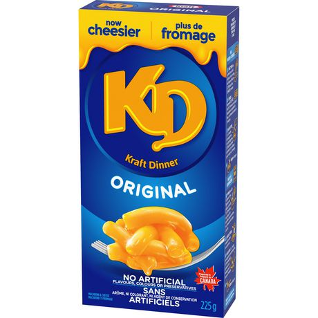 Kraft Dinner Original Macaroni & Cheese - image 2 of 3