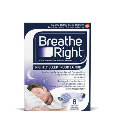 Breathe Right Nasal Strips Nightly Sleep - image 1 of 1