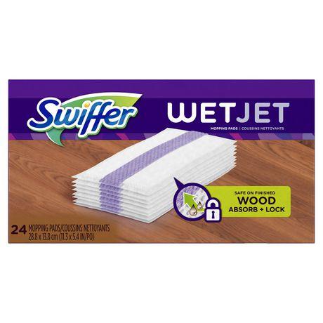 Recharge de coussins pour le balai vaporisateur Swiffer WetJet pour planchers en bois, Original - image 1 de 7
