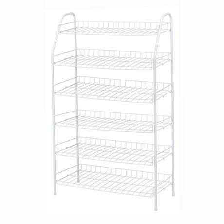 6 Tier shoe rack | Walmart Canada