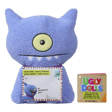 Sincerely UglyDolls Party On Ugly Dog Stuffed Plush Toy, Inspired by the UglyDolls Movie - image 2 of 6