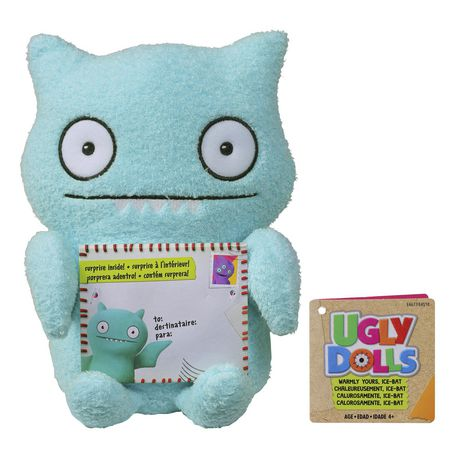 Sincerely UglyDolls Warmly Yours Ice-Bat Stuffed Plush Toy, Inspired by the UglyDolls Movie - image 2 of 7