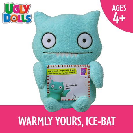Sincerely UglyDolls Warmly Yours Ice-Bat Stuffed Plush Toy, Inspired by the UglyDolls Movie - image 7 of 7