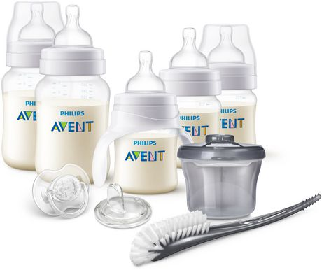 Starter Kit Wide Neck 3 Bottles Colic Baby Feeding Anti Natural Flow Deluxe Pk 1 For Fast Shipping Baby