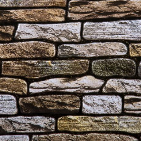 Truu Design 3d Brown Stone Wall Tile Walmart Canada