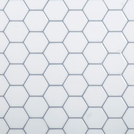 Truu Design White Hexagon Wall Tile Walmart Canada