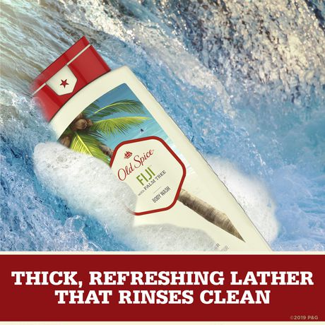 Old Spice Fresher Fiji Scent Body Wash for MEN - image 3 of 5