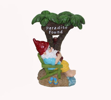Hometrends Beach Gnomes Garden Decor