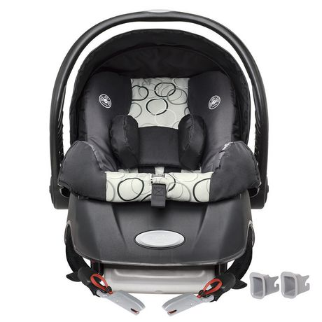 Evenflo Embrace\xe2\x84\xa2  Infant Car Seat Clay w/SureSafe Installation - image 2 of 6