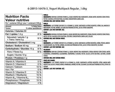 Great Value Stirred Yogurt Variety Pack - image 2 of 2