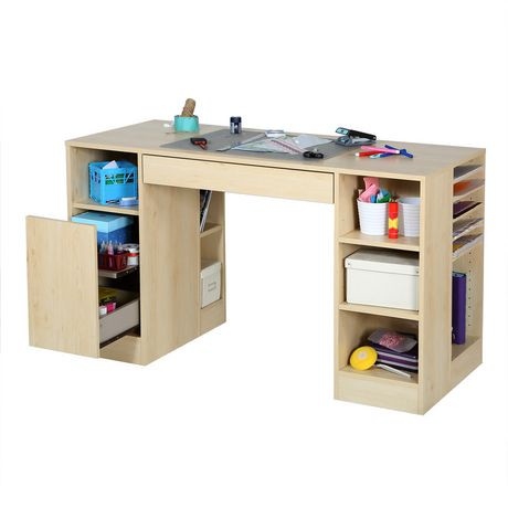 table de travail collection crea de meubles south shore walmart canada. Black Bedroom Furniture Sets. Home Design Ideas