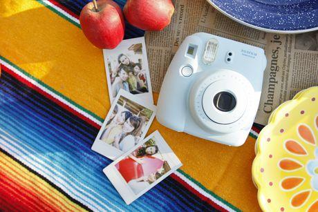Fujifilm Instax Mini 8 Camera with 10 Exposures & Strap - image 2 of 2