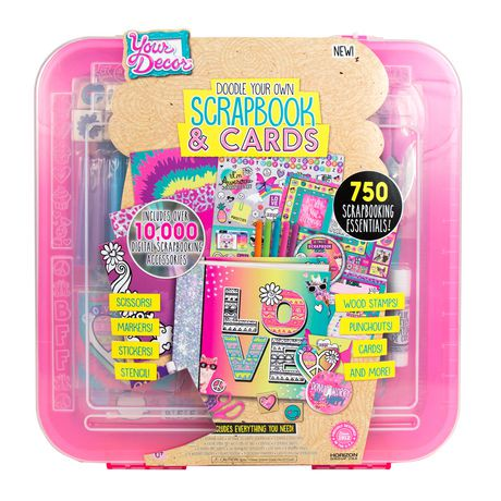 Your Decor Doodle Your Own Scrapbook Cards Kit Walmart Canada