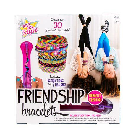 18497cbe95259 Just My Style Friendship Bracelets Kit
