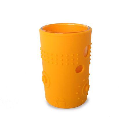 Silikids Siliskin® Tart Orange Glass Cup - image 1 of 4