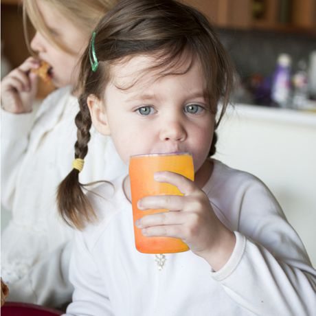 Silikids Siliskin® Tart Orange Glass Cup - image 3 of 4