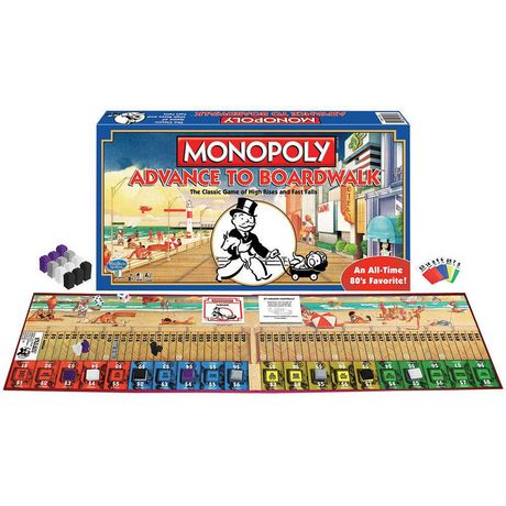 Winning Moves Games Winning Moves Monopoly - Advance to Boardwalk: The Classic Game of High Rises And Fast Falls (english Only) - image 1 of 1