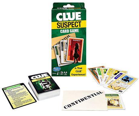 Clue Suspect Jeu De Cartes - Tout Le Plaisir En Minutes! (Seulement en Anglais) - image 1 de 1