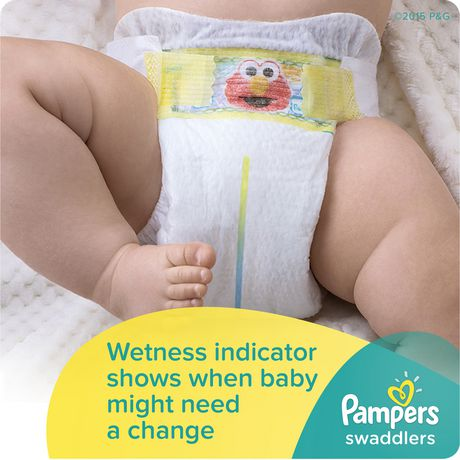 Pampers Swaddlers Diapers - Super Econo Pack - image 2 of 4