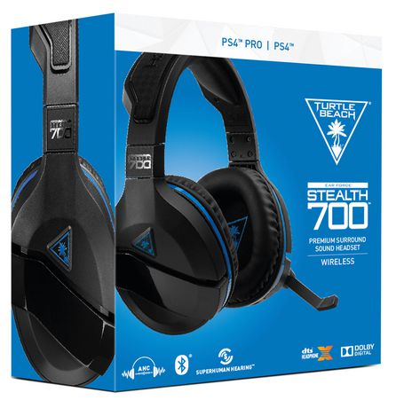 f397eb48dd7 Turtle BEACH® Stealth 700 Premium Wireless Surround Sound Gaming Headset  for PlayStation®4 PRO ...
