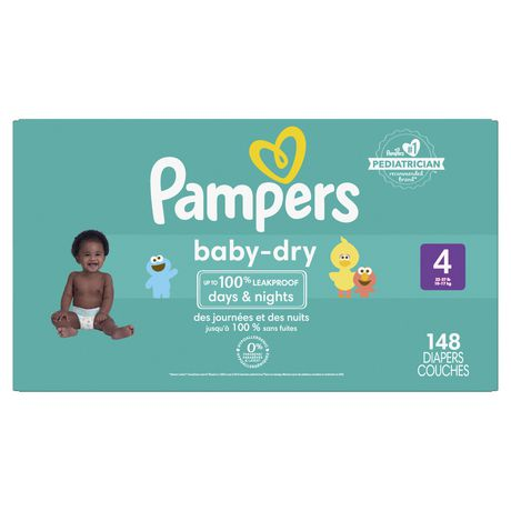 70fdd38cb6569 Pampers Baby Dry Diapers Size 4 - image 1 of 4 ...