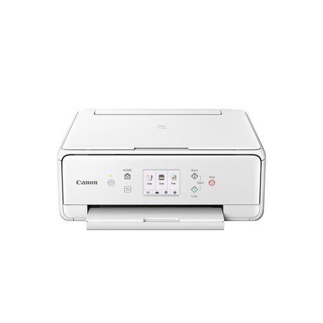 Canon Imprimante à jet d'encre sans fil tout-en-un PIXMA TS6120, blanc - image 1 de 2