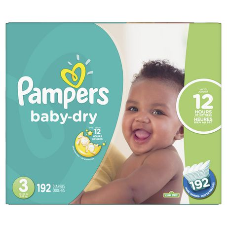 Pampers Baby Dry Diapers - Econo Plus Pack - image 1 of 4
