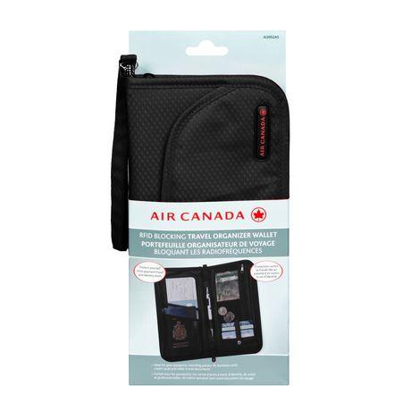 Air Canada Rfid Blocking Travel Organizer Wallet Walmart Ca