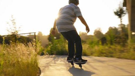 """Planche roulette Skateboard Ripstik Razor ripster Carving Air Ride Sur le Pont Noir 34/"""""""