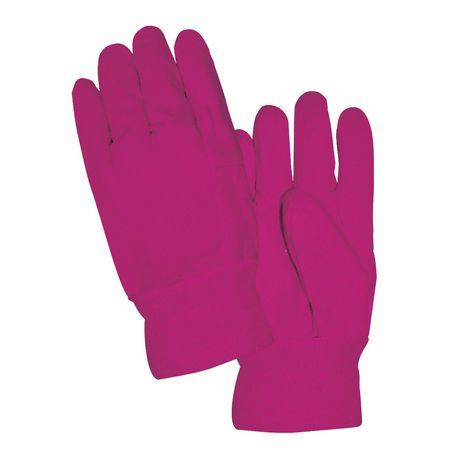 Grow It Women S Pink Light Duty Cotton Garden Gloves Walmart Canada