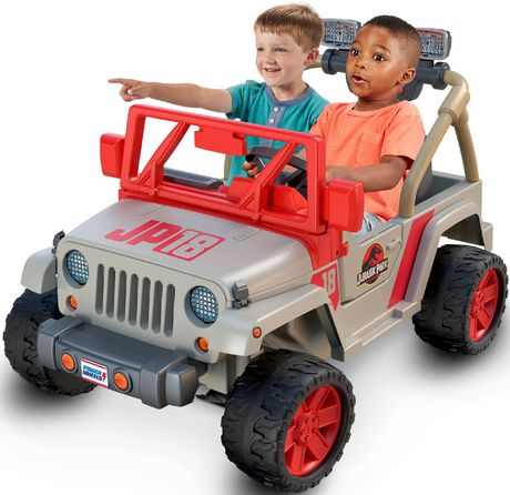 Power Wheels Jurassic Park Jeep Wrangler - image 1 of 9