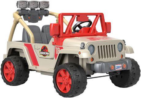 Power Wheels Jurassic Park Jeep Wrangler - image 2 of 9