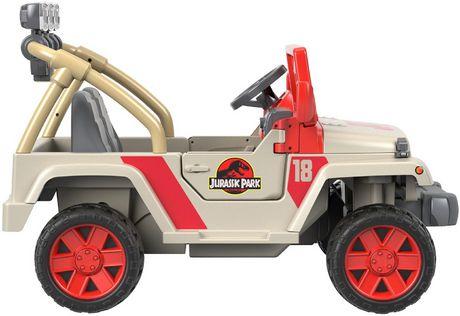 Power Wheels Jurassic Park Jeep Wrangler - image 3 of 9