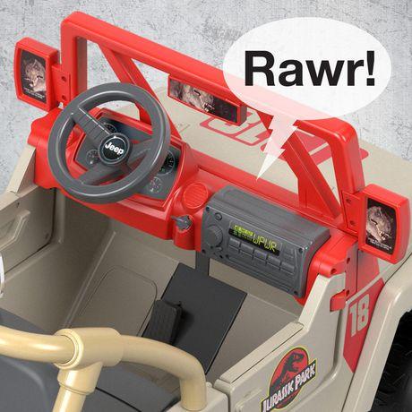 Power Wheels Jurassic Park Jeep Wrangler - image 8 of 9