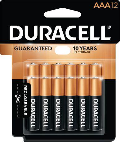 Duracell 1.5V Coppertop Alcalines, AAA Piles, un Paquet de 12 - image 1 de 7