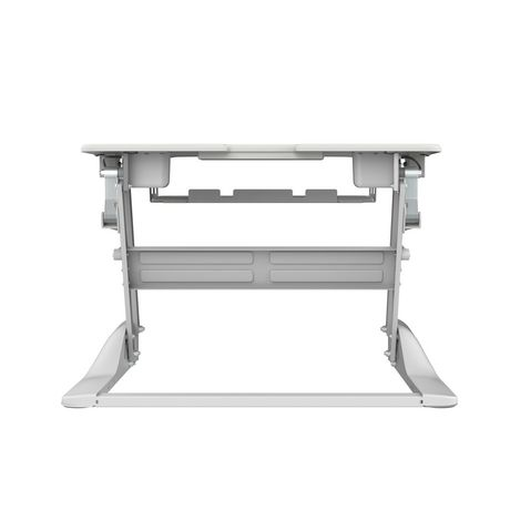 TygerClaw TYDS14014 Sit-Stand Desktop Workstation White Stand - image 2 of 6
