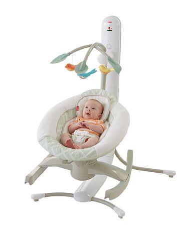 fisher price 4 in 1 motion cradle 39 n swing. Black Bedroom Furniture Sets. Home Design Ideas