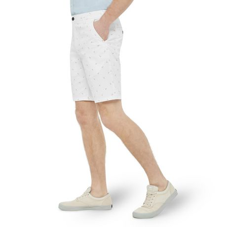 George Men's Printed Flat Front Chino Shorts - image 2 of 6