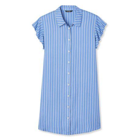 George Women's Ruffle Sleeve Shirt Dress - image 6 of 6