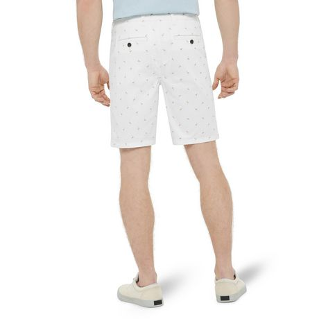 George Men's Printed Flat Front Chino Shorts - image 3 of 6