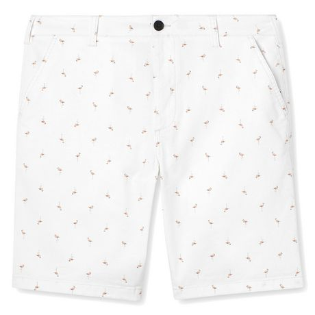 George Men's Printed Flat Front Chino Shorts - image 6 of 6