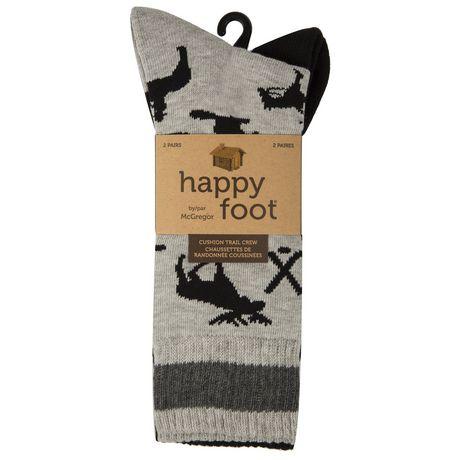 2PR Chauss. couss. Happy Foot - image 3 de 3