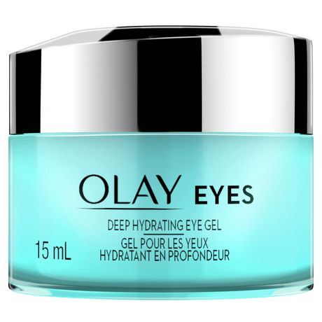 Olay Eyes Deep Hydrating Eye Gel with Hyaluronic Acid for Tired, Dehydrated  Eyes