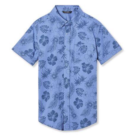 68c6f36093 George Boys  Printed Short Sleeve Woven Shirt - image 1 ...